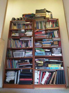 Boekenkast zolder voor