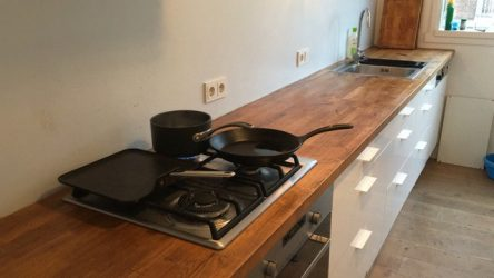 Keuken na